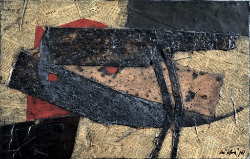 Roberto Gaetano CRIPPA - Pittura - OISEAU - 1961