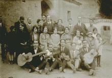 Martín CHAMBI - Fotografia - Cusco -Peru (Inkas with instruments)