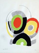 Sonia DELAUNAY-TERK - Estampe-Multiple - LES ILLUMINATIONS d'Arthur RIMBAUD