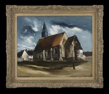 Maurice DE VLAMINCK (1876-1958) - Eglise en Bretagne