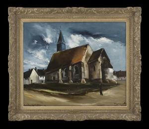 Maurice DE VLAMINCK, Eglise en Bretagne