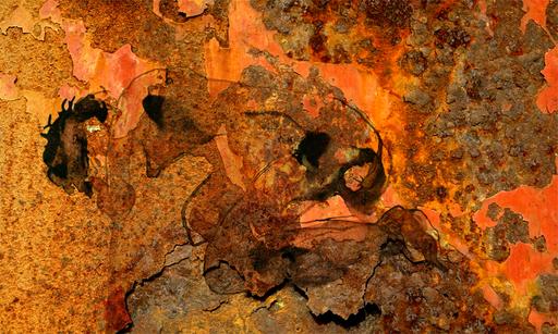 Aurélie LAFOURCADE - Peinture - De rouille et de chair