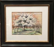 Paul Émile PISSARRO (1884-1972) - Arbre en fleurs