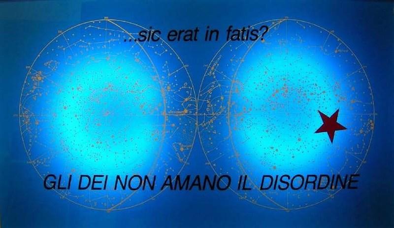Eugenio MICCINI - Druckgrafik-Multiple - GLI DEI NON AMANO IL DISORDINE