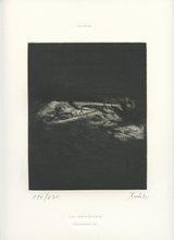 DADO - Stampa Multiplo - GRAVURE KAFKA 1985 SIGNÉE CRAYON NUM/175 HANDSIGNED ETCHING
