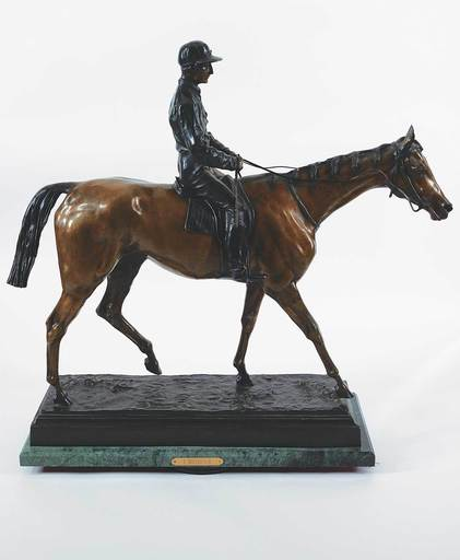 Isidore Jules BONHEUR - Sculpture-Volume - Untitled - Horse and Rider