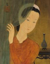 Trung Thu MAI - Peinture - Le rideau