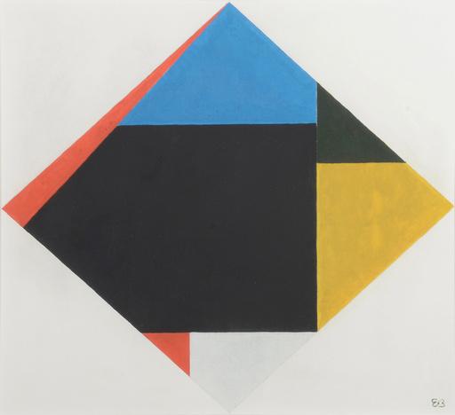 Étienne BEÖTHY - Pintura - Composition abstraite
