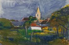 Josef DOBROWSKY - Painting - St Margarethen, Burgenland