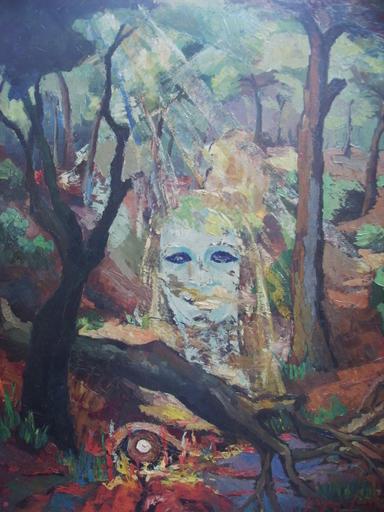 Serge SIEVIC - Peinture - L'ENVERS DE L'OEIL