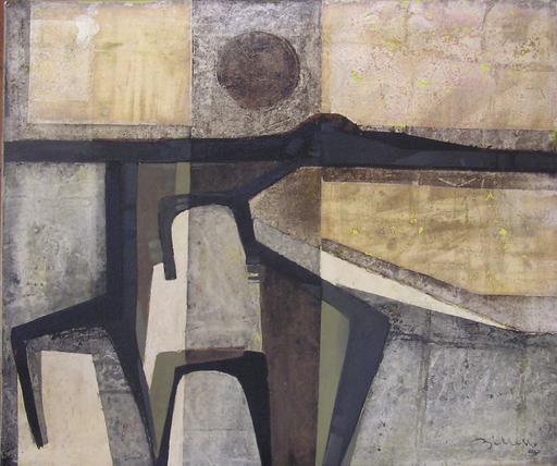 Alfredo BILLETTO - Gemälde - Autostrada Ceva-Savona
