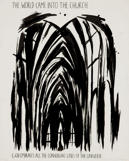 雷蒙德·帕迪伯恩 - 版画 - The World Came into the Church