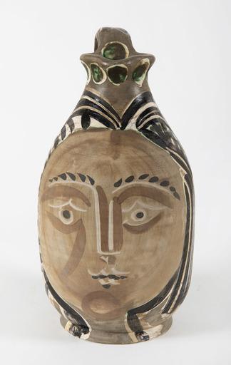 巴勃罗•毕加索 - 陶瓷  - La femme du barbu