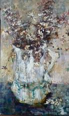 Michel DE GALLARD - Peinture - Bouquet