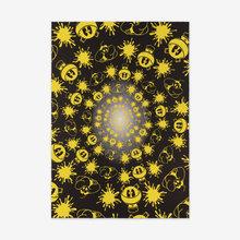 John ARMLEDER - Radierung Multiple - No Stain, No Gain (Black & Yellow Edition)