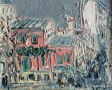 André COTTAVOZ - Painting - Paris