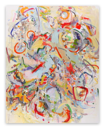 Gina WERFEL - Painting - Tumble