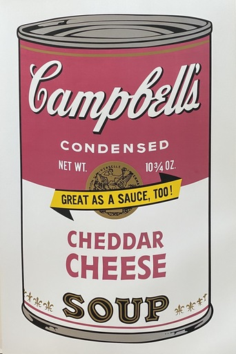Andy WARHOL - Print-Multiple - Campbell's Soup II Cheddar Cheese F&S II.63