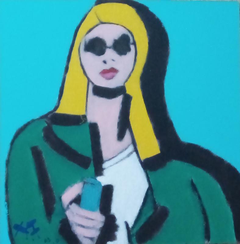 Harry BARTLETT FENNEY - Painting - street style 1