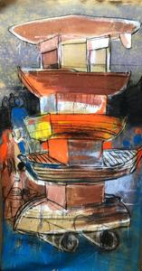 KCHO - Gemälde - de la serie 'Columna Infinita'