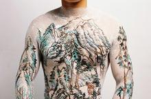 HUANG Yan - Photography - Chinese Shanshui Tattoo