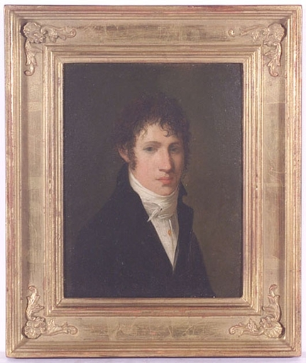 """Pintura - """"Young Gent"""", early 19th Century"""