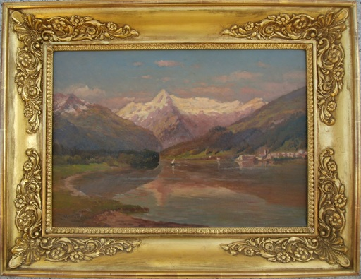 Paul HEITINGER - Painting - Zell am See, Österreich