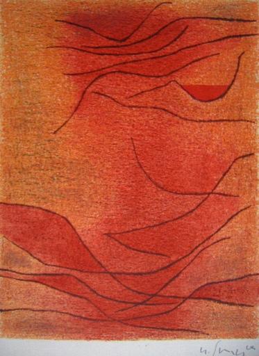 Gustave SINGIER - Estampe-Multiple - Rythme