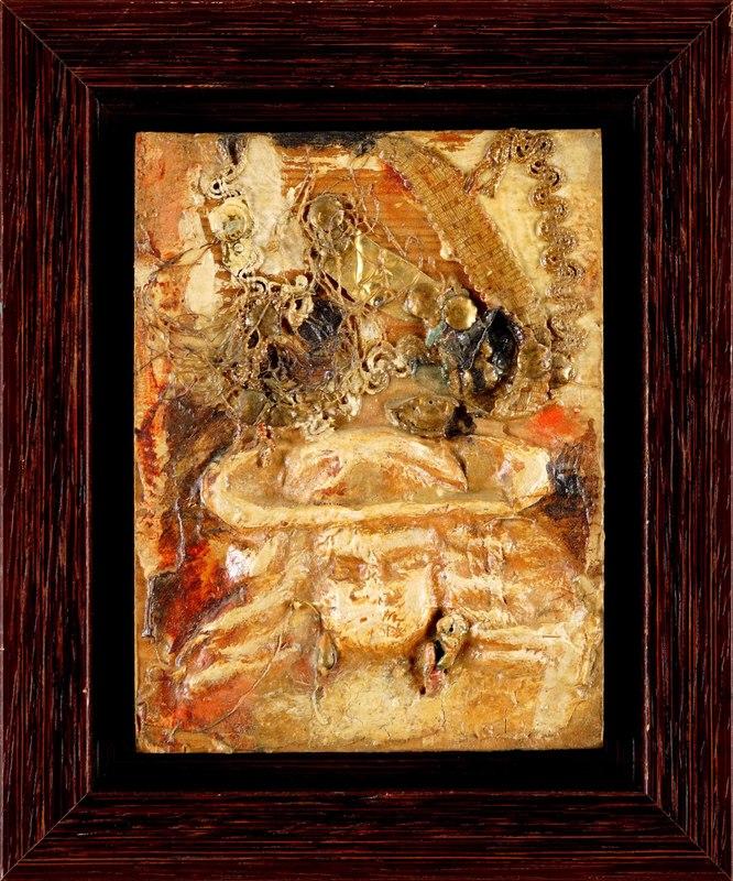 Teresa RUDOWICZ - Gemälde - Composition