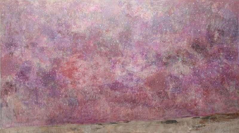 Natale ADDAMIANO - Painting - Sotto il cielo stellato