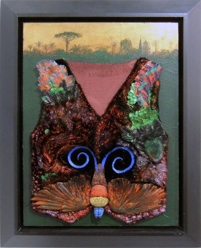 Silvio MERLINO - Painting - Essere di paradisea