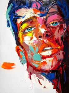 Françoise NIELLY - Painting - Jerome