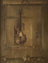 Alexandre RABIN - Painting - Violin Trompe L'oei