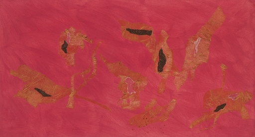Giulio TURCATO - Painting - Collage