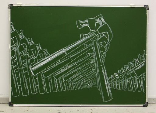 Slava PTRK - Sculpture-Volume - Image from Childhood. Hammers