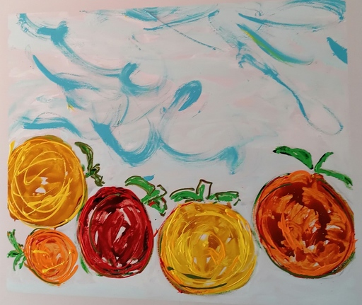 Mario SCHIFANO - Painting - ACERBO N2
