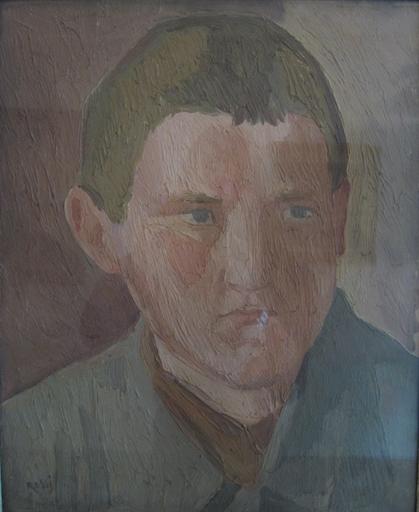 Ilario ROSSI - Pittura - Ritratto di ragazzo, 1935