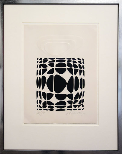 Victor VASARELY - Stampa-Multiplo - Yapoura