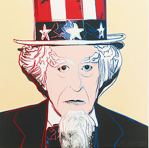 Andy WARHOL - Stampa-Multiplo - Uncle Sam (FS II.259)