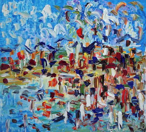 Antonino PULIAFICO - Gemälde - riflessi di mare