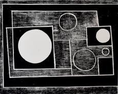 本•尼科尔森 - 版画 - Five Circles