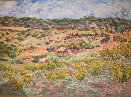 Francisco LOZANO SANCHIS - Peinture - Tierras de Xativa, Dunas