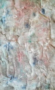 Lorena ULPIANI - Painting - Codici (juta)