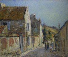 Gustave LOISEAU (1865-1935) - Rue de Village