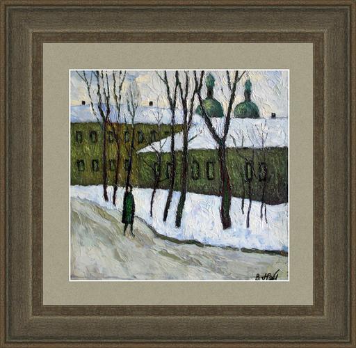 Valeriy NESTEROV - Pintura - Moscow. Yauzskiy Boulevard