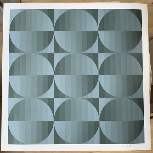 Jim BIRD - Print-Multiple - Jim Bird - tribute to Vasarely 4