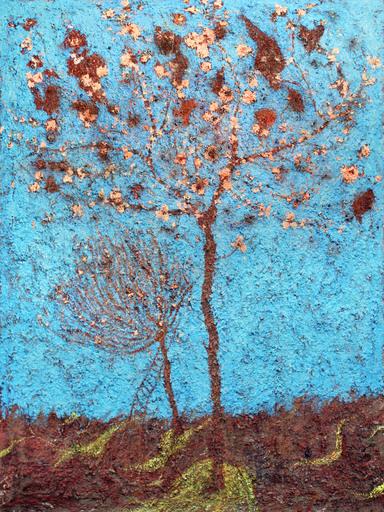 Frédéric COURAILLON - Peinture - Arbre en fleurs