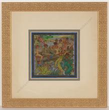 """Alfred WAAGNER - Disegno Acquarello - """"Heitere Stunden"""", watercolor, 1910s"""