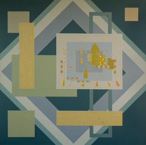Enrique Rodriguez GUZPENA - Painting - Elementos de arquitectura
