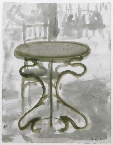 Rafel JOAN - Drawing-Watercolor - Sin Título